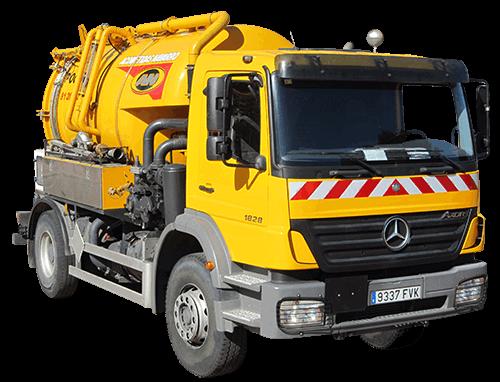 limpieza-de-alcantarillado-madrid-camion-solo